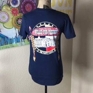 Willie Nelson For President Graphic Tee